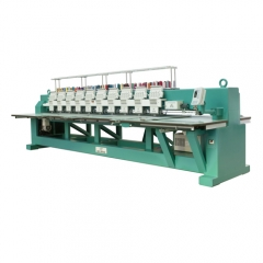 10 Heads High Speed Embroidery Machine