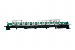 20 heads chenille embroidery machine