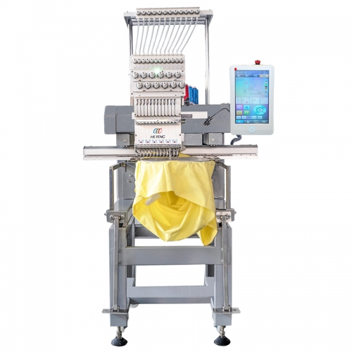 Single Head Embroidery Machine For Garments