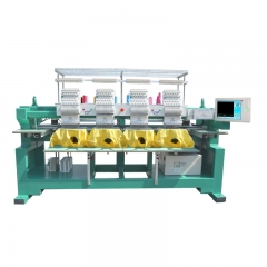 4 head cap tshirt embroidery machine