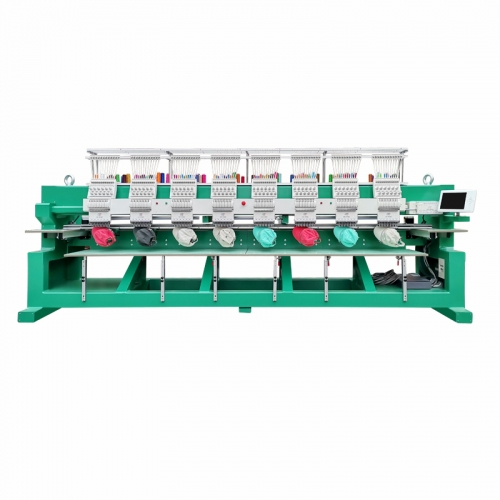 8 Heads Tubular Embroidery Machine
